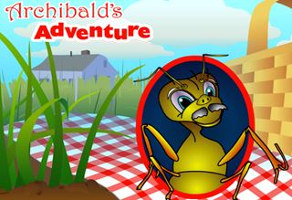 Archibald's Adventure - Interactive Insect Games for Kids