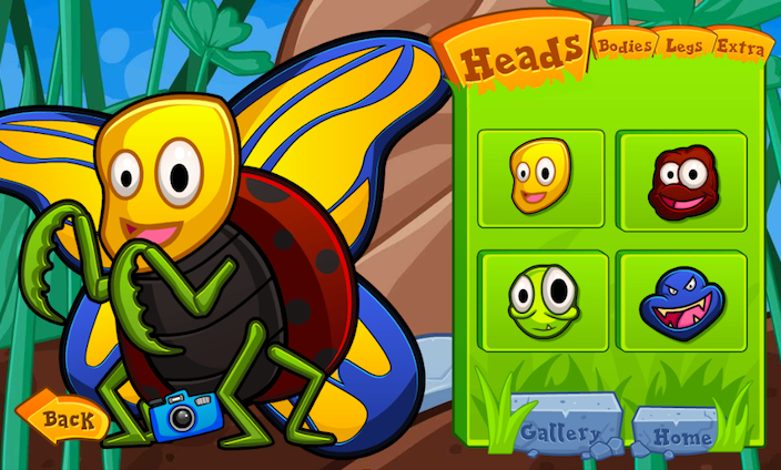 Bug Builder - Bug Games for Kids