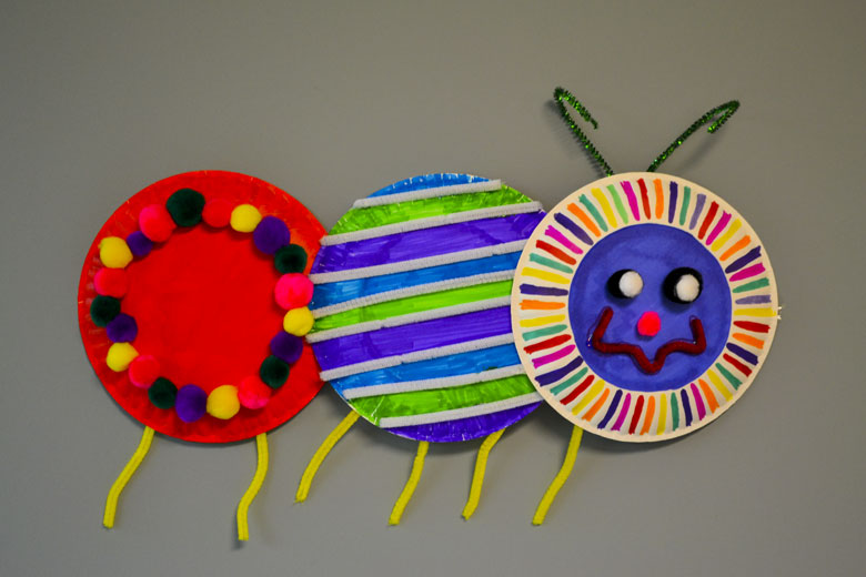 Crawling Caterpillar - Critter Crafts: Insect Craft Activities for Elementary Students